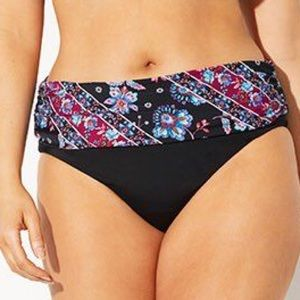 Swimsuits For All NWT Foldover Brief, 12